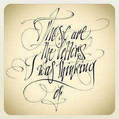 THEOSONE  #calligraphy
