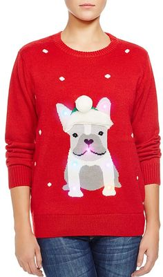 Kohl's Girls 7-16 Derek Heart Fairisle Penguin Christmas Sweater ...
