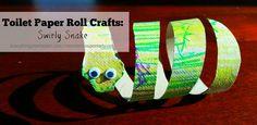 Toilet Paper Roll Snake