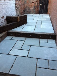 Kota Blue Limestone Patio Slabs. Indian paving slabs and Indian limestone from LSD.
