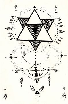 merkaba - inspiration for a tattoo perhaps ..