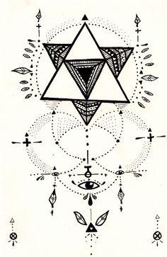 merkaba - inspiration for a tattoo perhaps ..