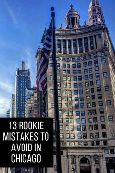 Chicago Travel Tips Visit Chicago Like a Pro: 13 Silly Mistakes to Avoid on Your Chicago Trip<br> Visiting Chicago? Check out these foolish mistakes to avoid when you travel to Chicago. These visitor tips Usa Travel Guide, Travel Usa, Travel Guides, Travel Tips, Travel Goals, Travel Hacks, Travel Packing, Solo Travel, Travel Info