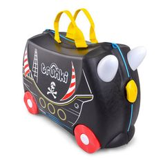 Baby Equipment Rental Melbourne - Pirate ship Trunki Ride on Suitcase for Kids - For Hire Melbourne Luggage Sizes, Hand Luggage, Luggage Suitcase, Pirate Ship Ride, Childrens Luggage, Toddler Luggage, Bateau Pirate, Pirate Adventure, Baby Equipment
