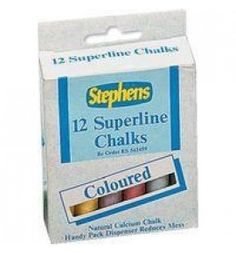 "Buy the new ""Stephens Chalk Coloured Sticks Hanging Pk12"""