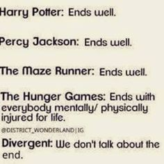 We just don't talk about Divergent.