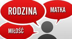 Learn the most important polish nouns, including kobieta (woman), miasto (city), dom (house) and their correct pronunciation. Learn Polish, Polish Words, Polish Language, Family Love, Poland, Vocabulary, Friendship, Seasons, Education