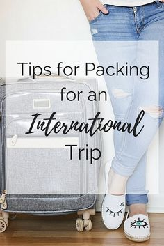 Traveling out of the country this summer? Well I'm sure you know how much of a pain it can be when it comes to packing. These tips will help make the whole process easier!