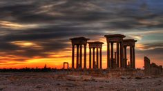 Ancient city of Palmyra, Syria ~ a site of inestimable beauty for centuries ~ destroyed by ISIS 5/2015