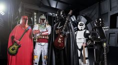 Why hello, what have we here? A band that plays Star Wars music in the style of heavy metal? Yes, please.