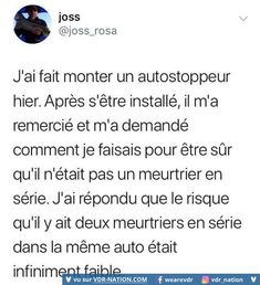 Sah c une bonne technique jretiens Funny Instagram Posts, Instagram Music, Instagram Story, Wtf Funny, Funny Cute, Funny Jokes, French Meme, Tuesday Humor, Good Humor