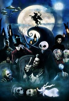 All things Tim Burton<3