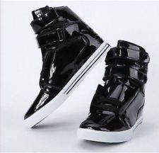 Fashion Men's high shoes casual Sneakers three color British hip-hop shoes boot