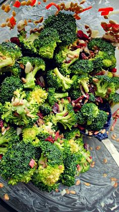 The Best Broccoli Salad Around (side dish, lunch, vegetable)