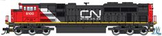 Locomotives 97170: Ho Walthers #910-19815 Cn Emd Sd70ace Sound And Dcc Diesel Locomotive Rd# 8100 -> BUY IT NOW ONLY: $155.99 on eBay!