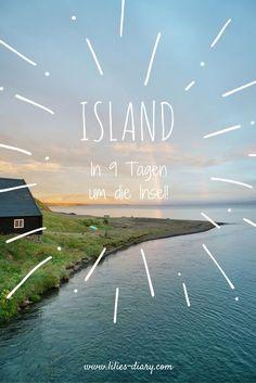 ISLAND RUNDREISE! Bei einer Island Rundreise seht ihr schwarze Strände, malerische Berge, atemberaubende Natur und habt das Gefühl am schönsten Ende der Welt zu sein... #travelguide #island #iceland