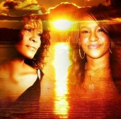 Bobbi Kristina Brown, daughter of the late Whitney Houston and Bobby Brown, is finally at peace. Whitney Houston, Beverly Hills, Bobbi Kristina Brown, Norma Jeane, Rest In Peace, Bobby Brown, Facon, Father And Son, Music Artists