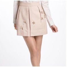 92728c76a8ab Anthropologie Beige Leifnotes Migration Skirt Size 0 (XS, 25). Free  shipping and. Tradesy