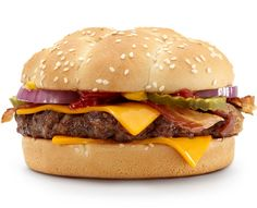 Angus Bacon & Cheese mcdonalds