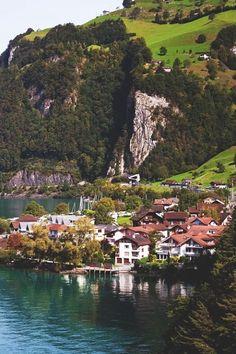 In Sisikon, Switzerland.