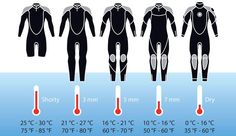 Infographic to help you to choose which wetsuit to bring in your luggage on your. - Infographic to help you to choose which wetsuit to bring in your luggage on your next dive trip. Scuba Diving Quotes, Best Scuba Diving, Belize Diving, Scuba Diving Gear, Cave Diving, Scuba Diving Tattoo, Kitesurfing, Diver Down, Scuba Diving Equipment