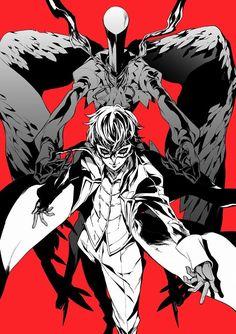 persona 5 protagonist Persona 5 Anime, Persona 5 Joker, Persona 4, Boys Anime, Anime Manga, Joker Mask, Ren Amamiya, Cyberpunk, Shin Megami Tensei Persona