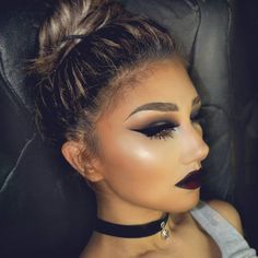 """""""Beauties, this next week I will start  uploading dark, dramatic, scary , looks and tutorials.  Any suggestion , request and recommendation is welcome...go…"""""""