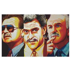 Chicago's Mustache Champions Of The World!!! Get this amazing art on a shirt!!