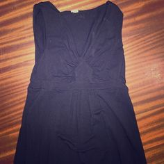 Black j crew dress size small Cotton t-shirt black sleeveless dress J. Crew Dresses Mini