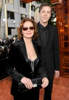 Susan Sarandon and son Jack Henry Robbins