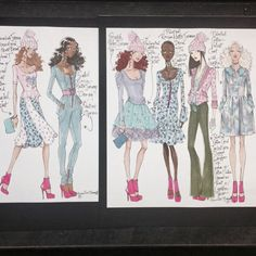 Fashion Design Project I did for Betsey Johnson Sportswear Pre-Fall 2013