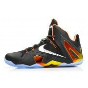 642846-002 Nike Lebron 11 Elite Black/White-Metallic Gold-Bright Mango $149.00  http://www.blackonshoes.com