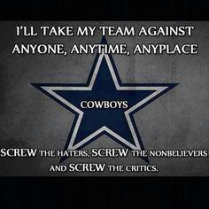 Dallas Cowboys explained.