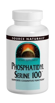 Source Naturals Phosphatidyl Serine 100, Supports Cognitive Function, 30 Capsules -- Want to know more, click on the image.