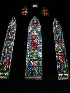 Stained Glass Windows in Glasgow Cathedral
