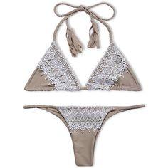 Just In Lace Trim Triangl... Shop Now! http://www.shopelettra.com/products/lace-trim-triangle-brazilian-bikini-set?utm_campaign=social_autopilot&utm_source=pin&utm_medium=pin #love #ootd