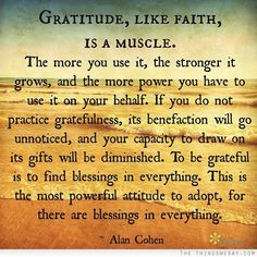 gratitude // alan cohen #positive #happy