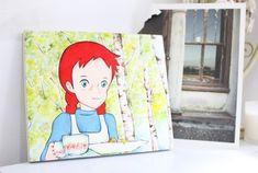 초록한 나무가 가득한 숲속에서 차 마시는 빨강머리앤 소품입니다 늘 빨강머리앤 작업 시간은 즐거운 마음... Anne Shirley, Anne Of Green Gables, Disney Characters, Fictional Characters, Disney Princess, Artist, Vintage, Artists, Vintage Comics