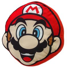 Buy Mario Plush Cushion from the Official Nintendo UK Store. Free Delivery on all orders over £20.