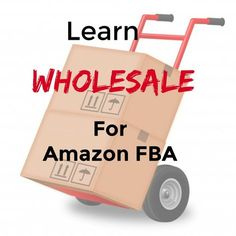 If there is one single thing that has taken my online retail business to a whole new level it is when I learned how to do wholesale for Amazon FBA. Make Money On Amazon, Sell On Amazon, Make Money From Home, Amazon Fba Business, Online Business, Business Marketing, Amazon Jobs, Amazon Hacks, Diy Jewelry Findings