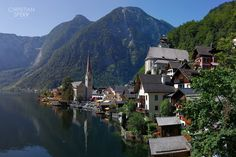 Hallstatt in Austria is a photographers dream and has to be most of one pf the most beautiful scenic villages in Europe, if not the World. Hallstatt is a village in Austria's mountainous Salzkammergut region. Its Alpine houses and Gothic Catholic. Places Around The World, Oh The Places You'll Go, Cool Places To Visit, Places To Travel, Around The Worlds, Dachstein Austria, Beautiful World, Beautiful Places, Amazing Places