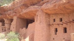 Cliff Dwellings at Manitou Springs, CO