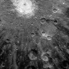 craters on Mercury