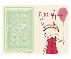 Happy Birthday, pige, Enkelt Kort