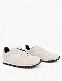 Spalwart Marathon Trail Low Mesh white The Spalwart White Suede Marathon Trail Sneakers for AW16, seen here in white. - - - - These understated sneakers from Spalwart are crafted to impeccable standards from premium suede. They are finishe http://www.MightGet.com/january-2017-13/spalwart-marathon-trail-low-mesh-white.asp