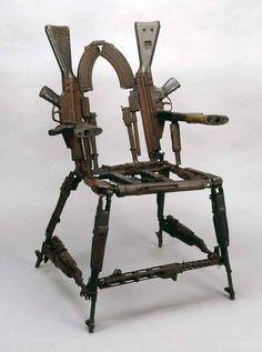 Throne of Weapons by Cristóvão Canhavato