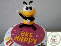 Tarta Bee Happy https://www.facebook.com/Dulcecatering.mesasdulces?ref=hl
