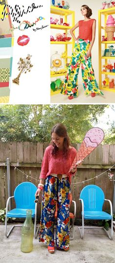 Designer Inspired: Alice + Olivia Floral Pants | Sequin Crush
