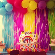 Rainbow party by sweet d'elite