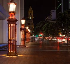 Night Scene in Auckland NZ 7 by Randy Dorman on 500px